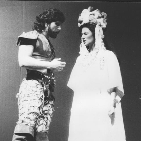 """Malinche""  1987 Personaje: Hernán Cortés"